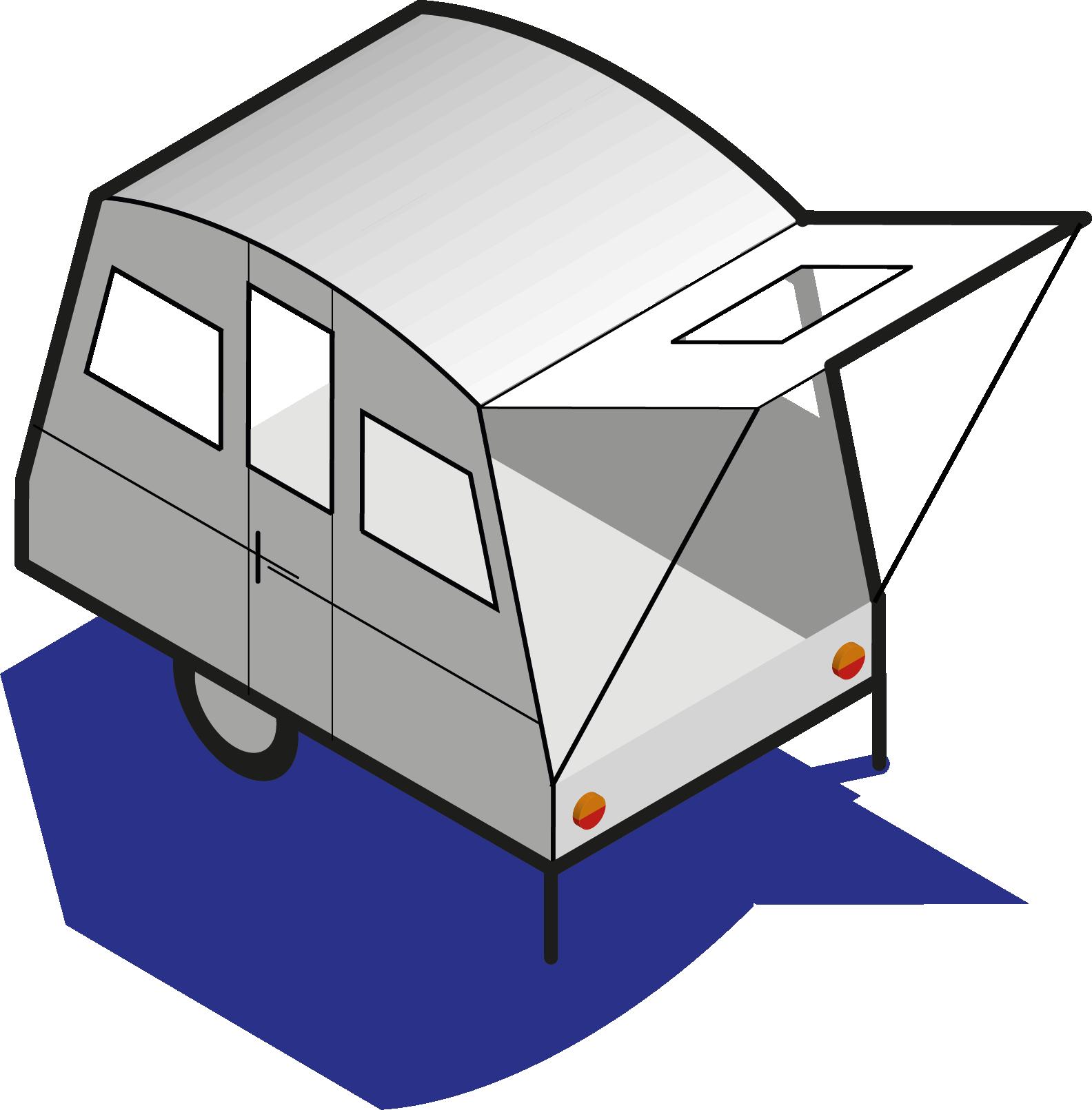 Dessin caravane